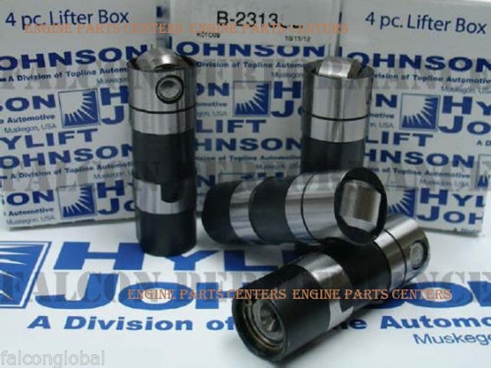 std Harley Twin Cam Tappets Lifters USA-made genuine Hylift JOHNSON 1999-up set//4