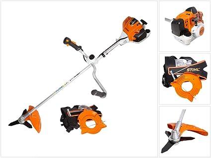 Stihl FS 260 Motor Sense - Desbrozadora (2,7 PS, 2,0 kW, 30 cm de espesor, gasolina, con mango doble y accesorios): Amazon.es: Bricolaje y herramientas