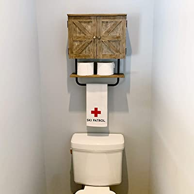 24++ Excello global products barndoor bathroom wall cabinet best