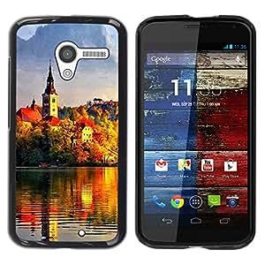 Paccase / SLIM PC / Aliminium Casa Carcasa Funda Case Cover - Sunset Beautiful Nature 95 - Motorola Moto X 1 1st GEN I XT1058 XT1053 XT1052 XT1056 XT1060 XT1055