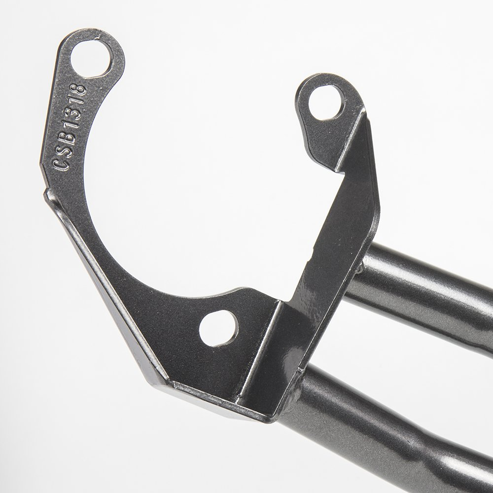 Gunmetal DC Sports CSB1318 Honda Civic DX//LX//EX Carbon Steel Front Strut Bar