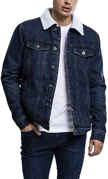 Giubbino jeans uomo usato
