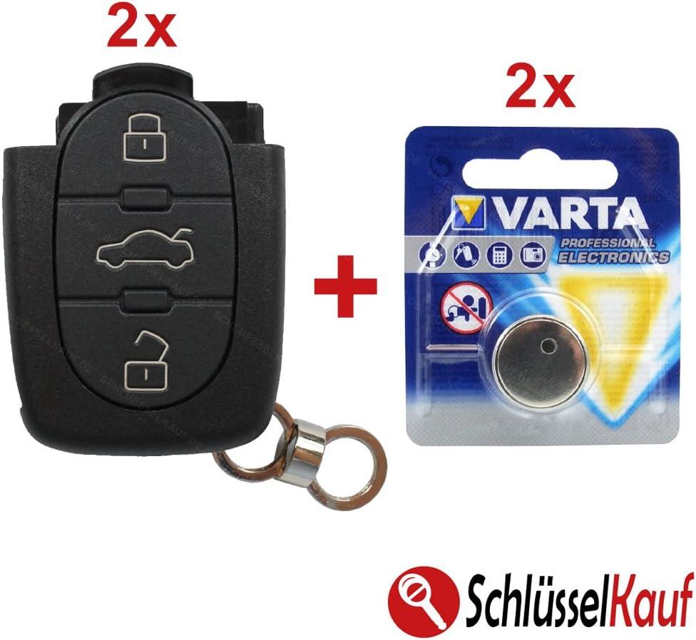 Konikon 2x Autoschlüssel Cr20 3 Tasten Gehäuse Passend Elektronik