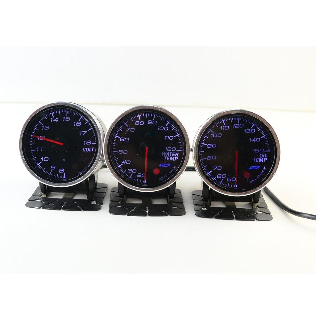 Jili Online Car Oil Temperature Temp Gauge 12 Volt 60mm 2.3 inch 50-150 Degrees Reading by Jili Online (Image #10)