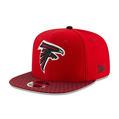 New Era Atlanta Falcons NFL 2017 Sideline 9fifty Snapback Cap S M ...