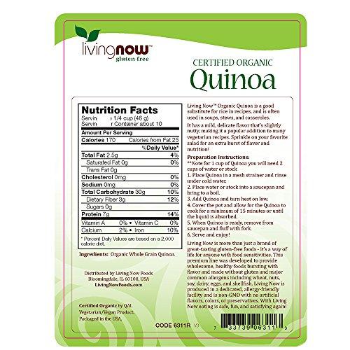 Whole Foods Quinoa Salad Nutrition Information