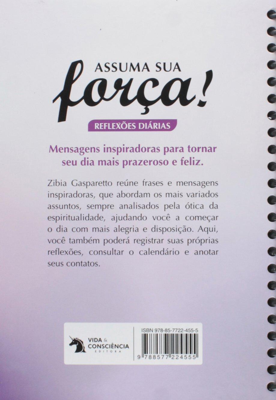Assuma Sua Força Em Portuguese Do Brasil Zibia Gasparetto