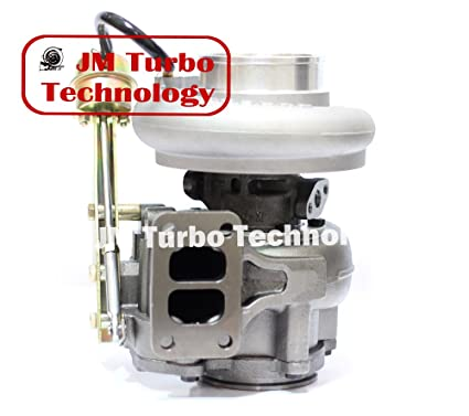 Dodge Ram Turbo Diesel Super Drag 6ctaa Turbocharger Cummins Hx40w T3 Flange 3538215 New
