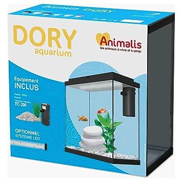 Animalis Acuario Dory équipé blanco 10L: Amazon.es: Productos para mascotas
