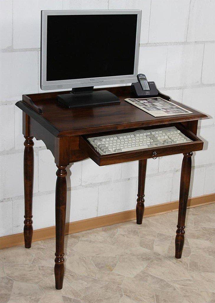 Massivholz Sekretr Mit Tastaturauszug Computertisch