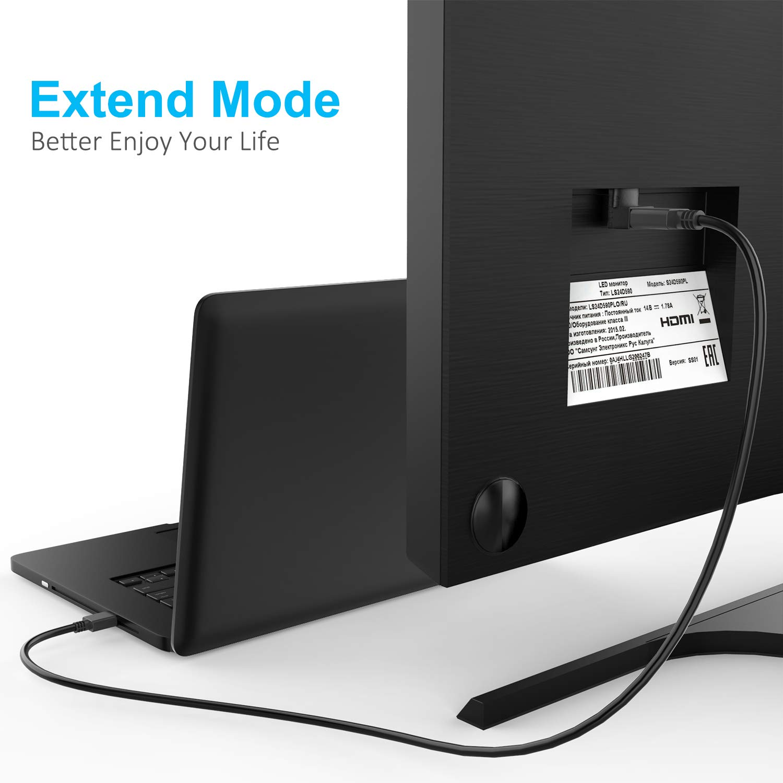 Adaptador HDMI 3 Unidades Mini HDMI a HDMI est/ándar Micro HDMI a HDMI est/ándar