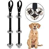 """2 PACK Dog Doorbells Premium Quality Training Potty 7 Pack Great Dog Bells Adjustable Door Bell Dog Bells for Potty Training Your Puppy the Way - Premium Quality - 5 Extra Large Loud 1.4"""" Doorbells"""