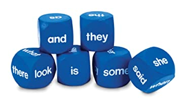 Amazon.com: Learning Resources Sight Word Cubes: Office Products