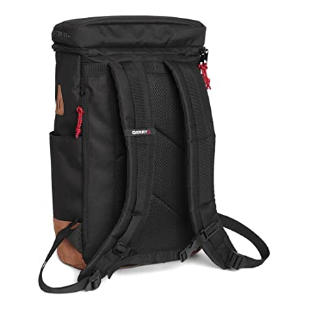 Gerry Outdoor – Baxter Top Load Backpack with Faux Suede Bottom, Black