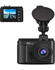 "Vantrue N1 Pro Full HD 1920X1080P Mini Dash Cam for Cars, 1.5"" LCD Mini Car Dash Camera with Sony Sensor, Super Night Vision, Parking Mode, Cold-Resistance, Collision Detection, G-Sensor & Loop Recording, Support up to 256GB Card"