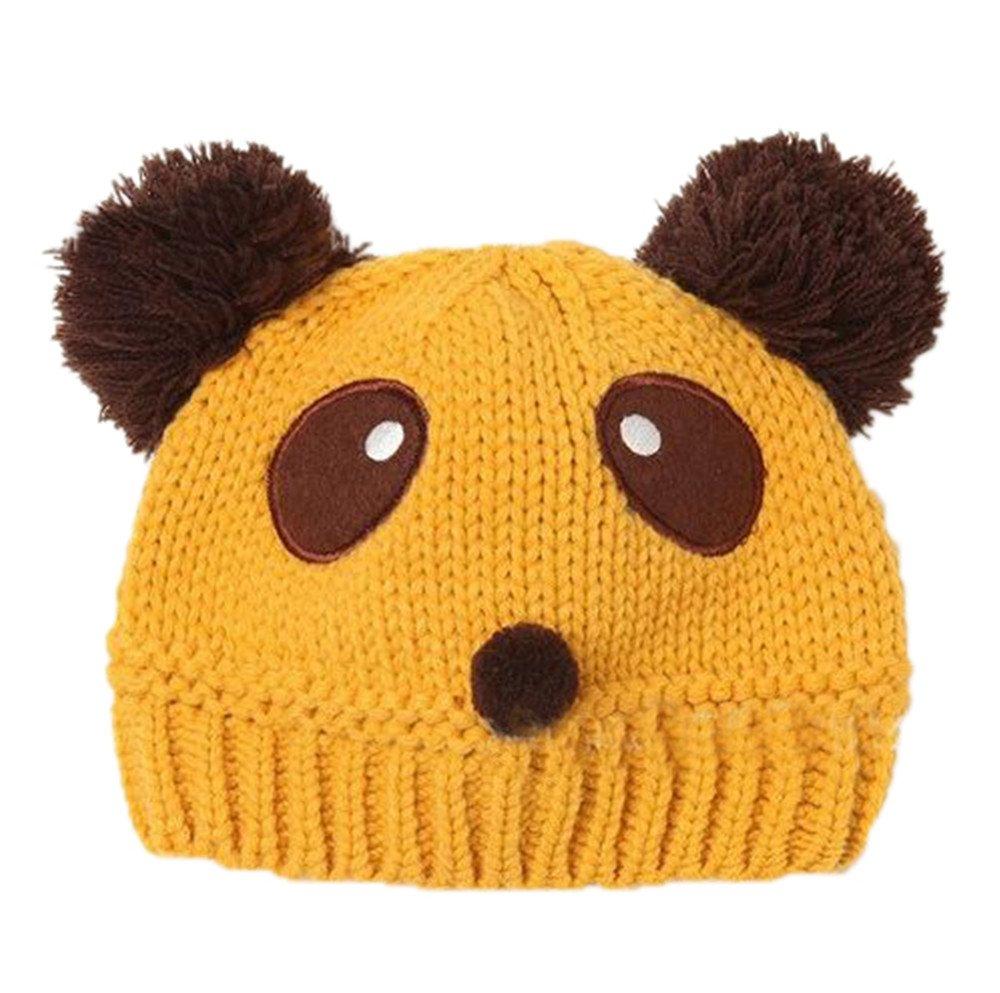 ReachTop Fashion Lovely Baby Kids Girls Boys Warm Winter Knit Crochet Hat, Beige