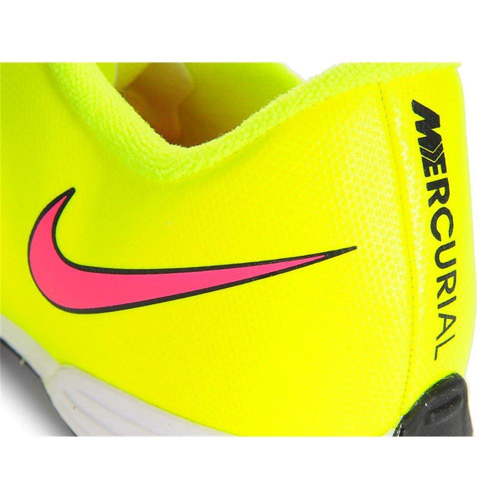 Nike MERCURIAL VORTEX 2 Cristiano Ronaldo NIÑO AMARILLO FLUOR zapatilla  fútbol calle TF - 38  Amazon.es  Zapatos y complementos 61775ca9df873