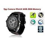 Electro-Weideworld - 8GB 960P mini espía reloj de la cámara oculta reloj de la