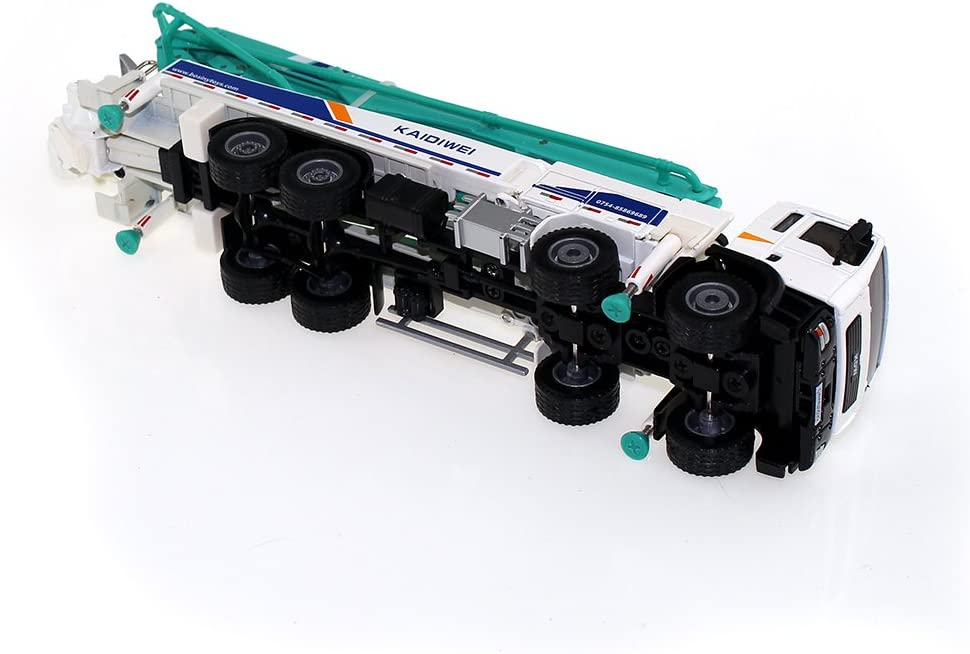 1//55 Concrete Pump Truck Model Engineering Car Alloy Vehicle Kids Toy Gifts