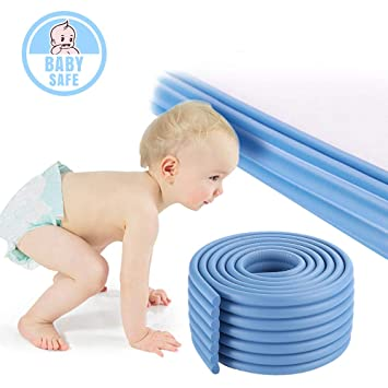 1 x 2m Baby Safety Bumper Strip Table Corner Protector Guard Anti-collision Bar