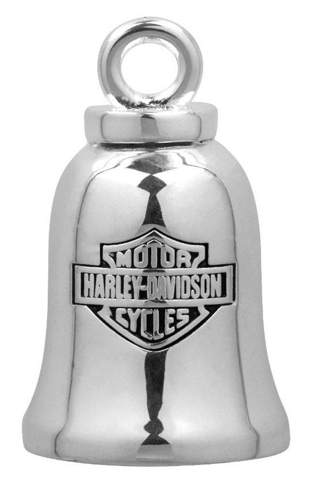 Silver HRB077 Sterling Silver Harley-Davidson Good Day for A Ride Ride Bell