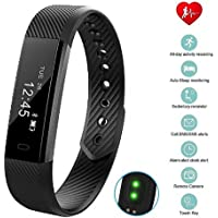 Lifbeier Fitness Tracker Watch with Heart Rate & Blood Pressure Monitor, IP67 Waterproof Activity Tracker with Pedometer Calories Counter for Kid Women