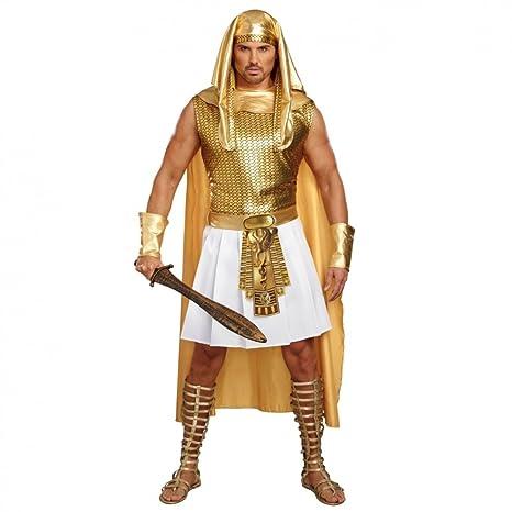 Premium Bodywear AG Disfraz Egipcio Ramsés, Oro, Carnaval ...