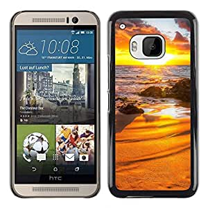 """For HTC One ( M9 ) , S-type Sunset Beautiful Nature 31"""" - Arte & diseño plástico duro Fundas Cover Cubre Hard Case Cover"""