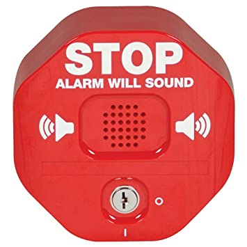 Safety Technology International, Inc. STI-6400 Exit Stopper Multifunction Door Alarm, Helps Prevent Unauthorized Exits or Entries Through Emergency ...
