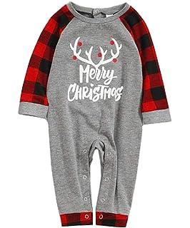 Hstore Baby Girls Romper Christmas Deer Butterfly Jumpsuit+Headband Bodysuit Clothes