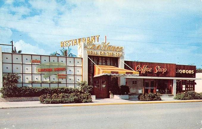 Fort Lauderdale Florida Seahorse Street View Vintage