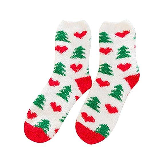Kinlene Calcetines de negocios casuales lindos Impresión navideña Impresión Medias medias deportivas: Amazon.es: Ropa y accesorios