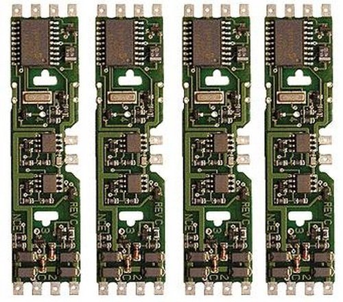 HO DCC Decoder, Drop-In DApack/5-Function 1A (4)