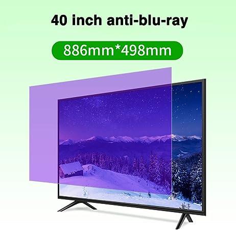 Protector De Pantalla De TV Anti-BLU-Ray De 40 Pulgadas/Película ...
