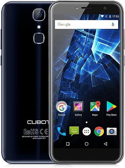 Cubot X18 - Smartphone 4G sin Contrato, 5,7 pulgadas, Android 7.0, MT6737T 1,5 GHz Quad-