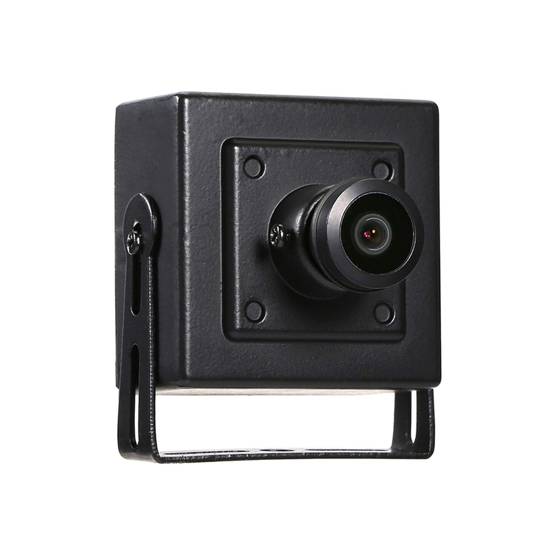 RevoTech® P2P - Fisheye B07M8586NL HD 1920 x 1920 1080 P 2.0MPセキュリティミニタイプ屋内用IPカメラメタルカメラONVIF P2P IP CCTVカムシステム(I706-4ブラック) B07M8586NL, バッグとスマホポーチかばん創庫:066c0633 --- ero-shop-kupidon.ru