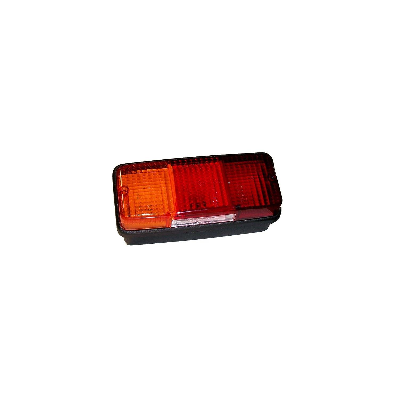 ORANGE MARINE Feu arrière Gauche Universel - 3 Ampoules 160x70x70 mm Orangemarine
