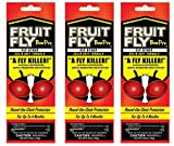 Pack of 3 Fruit Fly BarPro Fly Control Strip Bundled by Maven Gifts