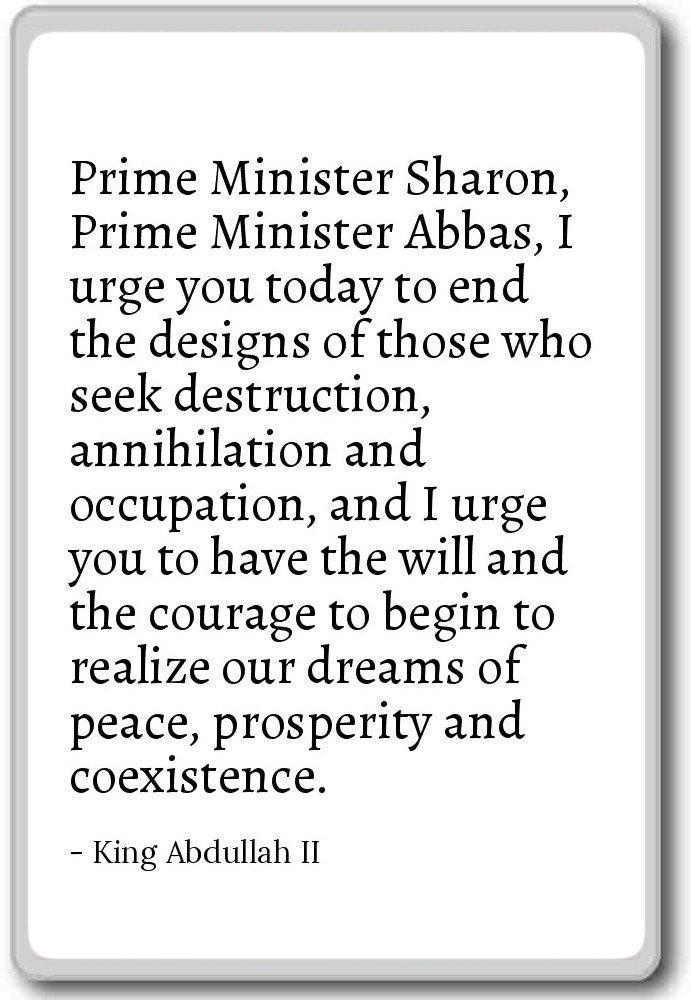 Amazon com: Prime Minister Sharon, Prime Minister Abba    - King