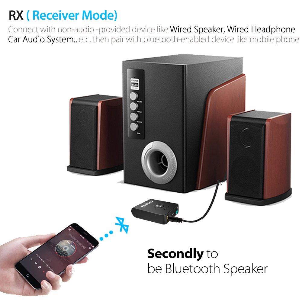 Funkadapter Wireless Receiver Adapter Bluetooth Empfänger 3,5mm Klinke Bluetooth Audio Musik Auto Aux Kabel Für Lautsprecher Kopfhörer Tragbares Audio & Video