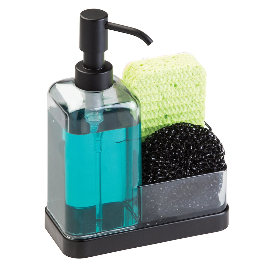 Black Soap Dispenser Kitchen Sink