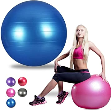 grofitness 30 cm bola de yoga de alta resistencia anti Burst ...
