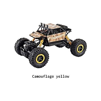 1: 18 coche teledirigido de cuatro ruedas motrices vehículo todoterreno 2.4 G Radio mando a