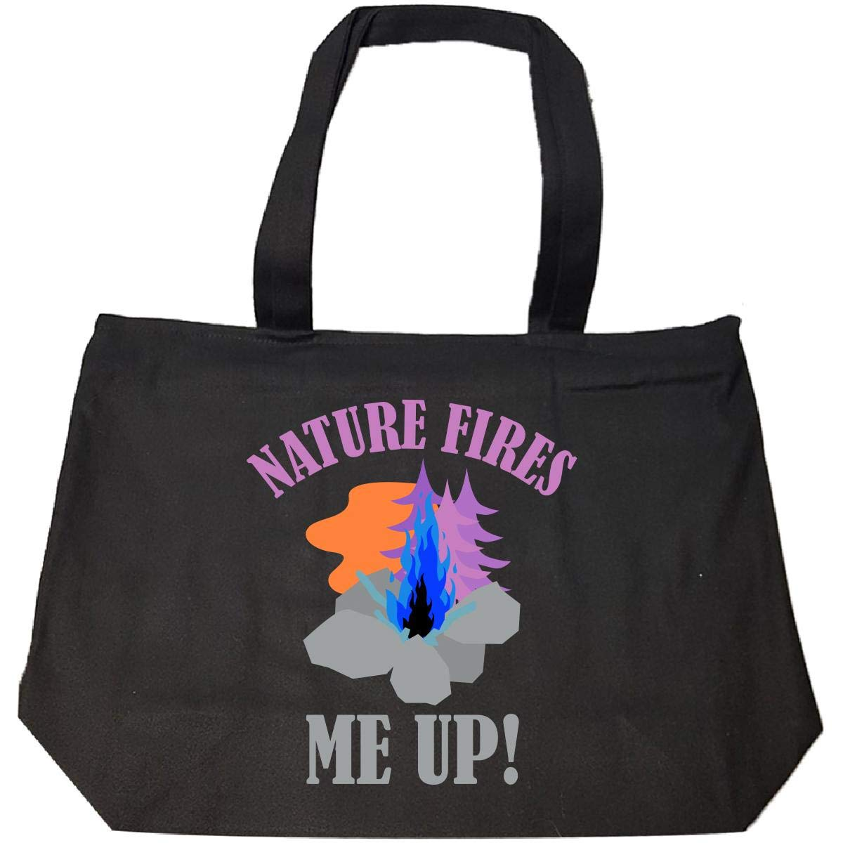 3 Nature Fires Me Up Tote Bag With Zip