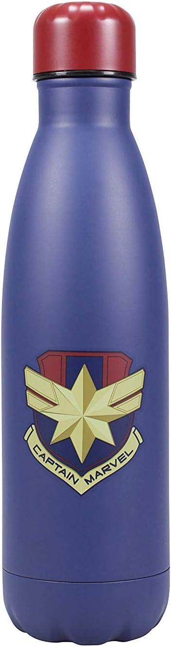 Marvel WTRBMV04 Waterbottle Metal Capitán