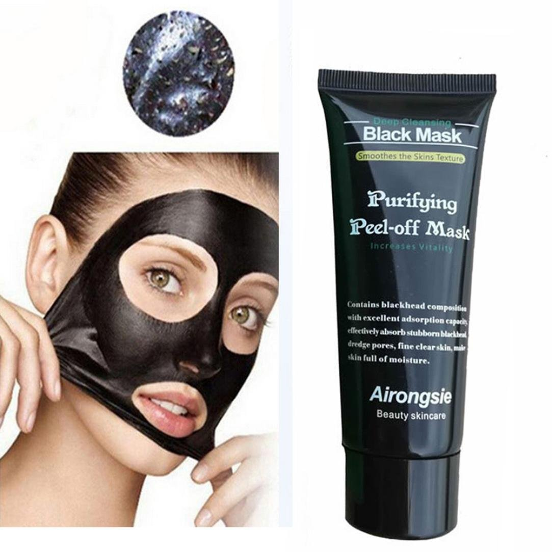 KIMODO Black Mud Off Blackhead Face Mask Deep Cleaning Peel Remover Treatment Mask