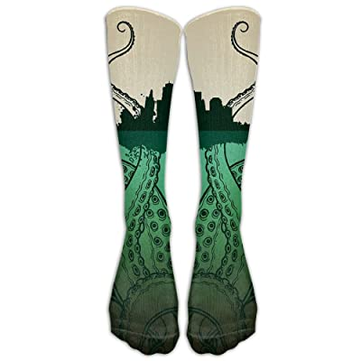 High Boots Crew Huge Octopus Compression Socks Comfortable Long Dress For Men Women