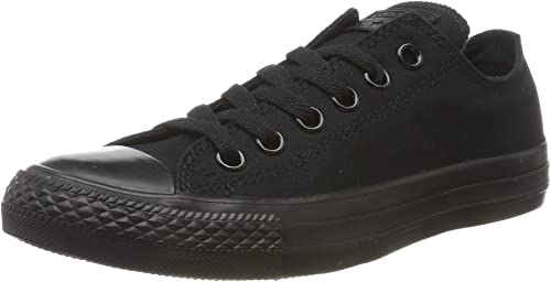 converse chuck taylor all star sneakers unisex adulto nero