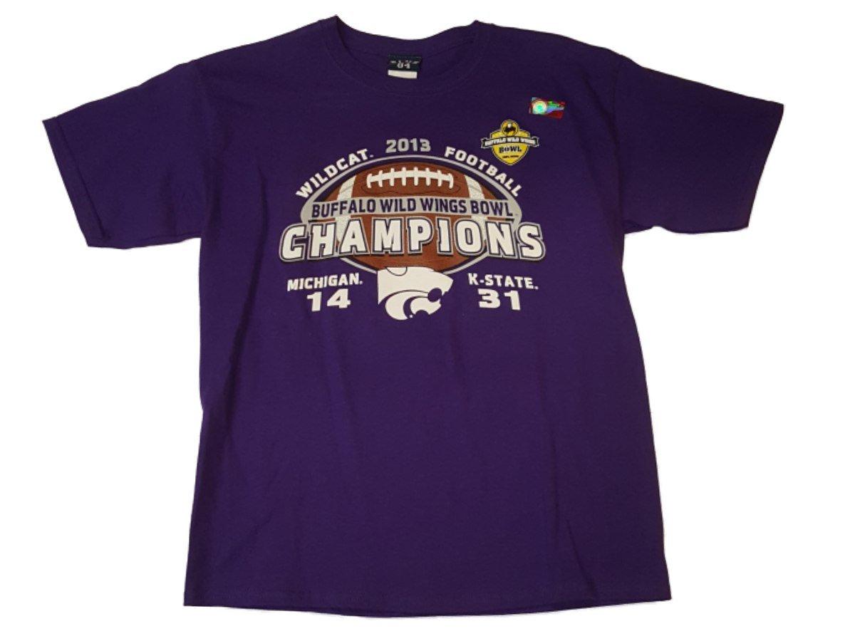 【最安値挑戦!】 Kansas State State Wildcats Bowl 2013 Buffalo Wild Wings B01N23FNX4 Bowl ChampsユースTシャツ( XL ) B01N23FNX4, 利尻富士町:213c2cbb --- a0267596.xsph.ru
