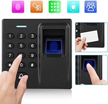 Access-Control Keypads Touch Keyboard Access Control System with Waterproof Cover and 10pcs Card Tags Tangxi Door Access Control Keypad Machine